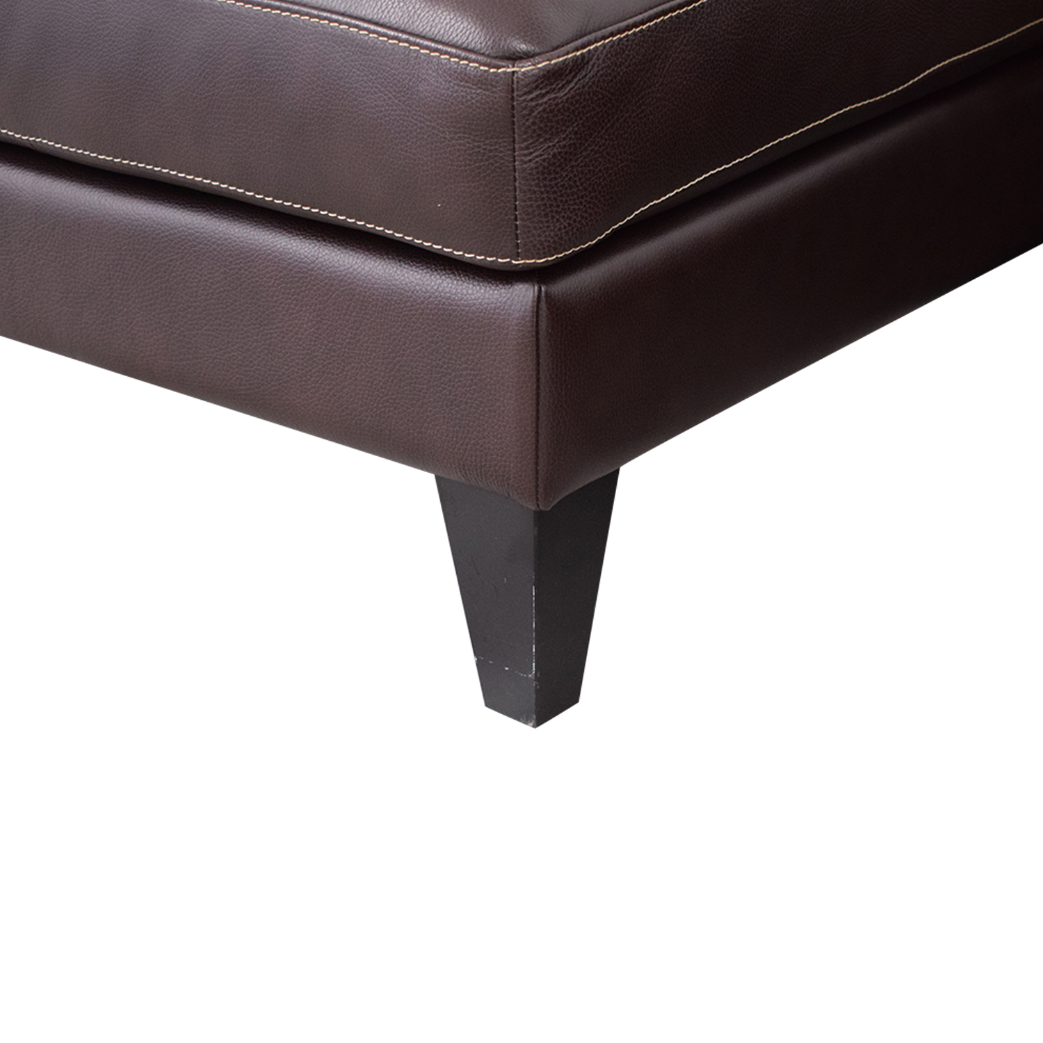 buy Lind Chaise Sofa with Headrest and Ottoman Lind Sectionals