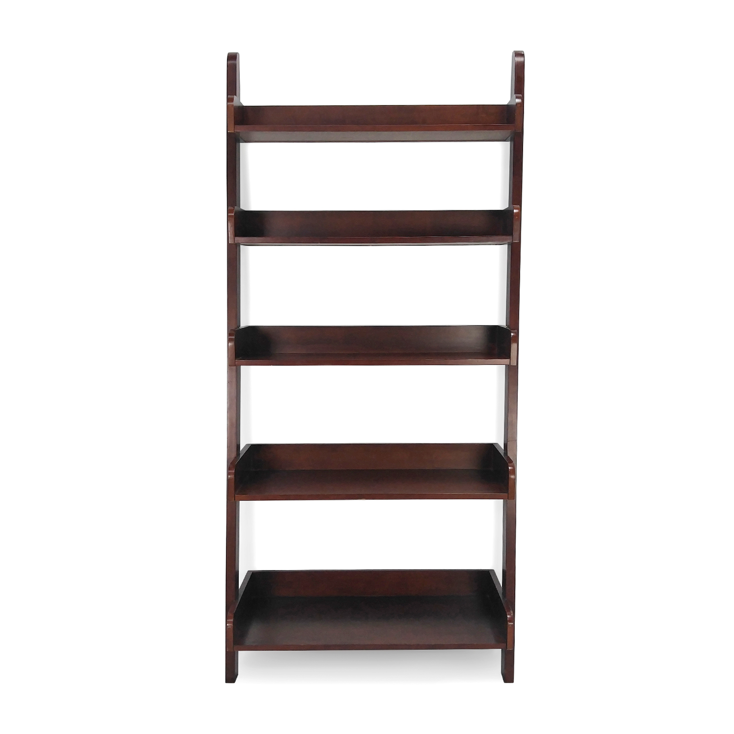 shop Leaning Wood Shelves Unknown Brand