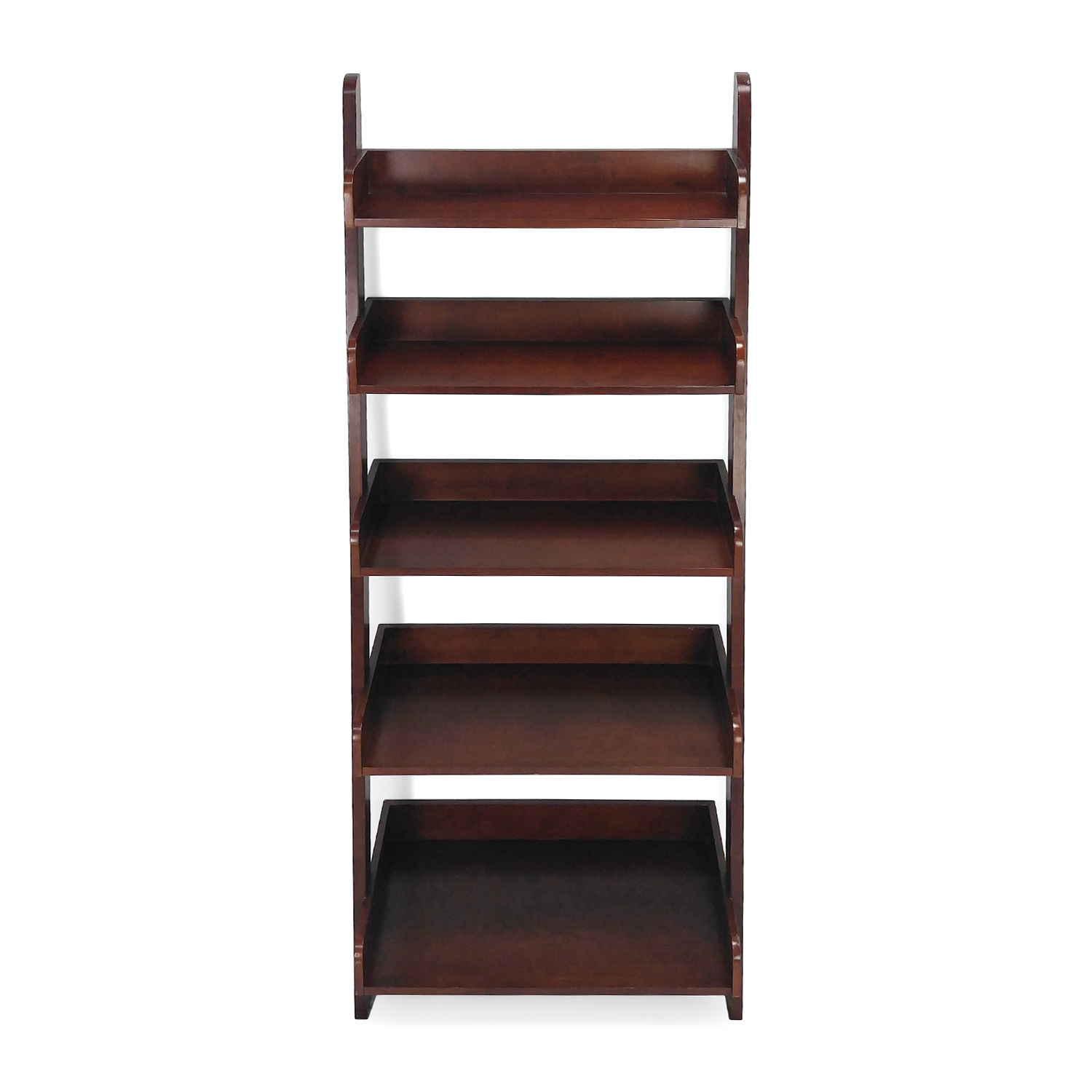 Unknown Brand Leaning Wood Shelves dimensions