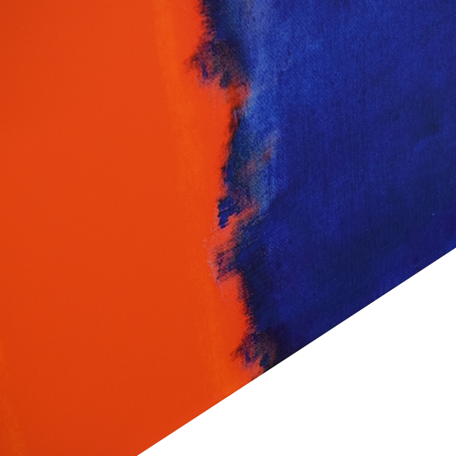 buy Vibrant Blue and Orange Painting  Wall Art