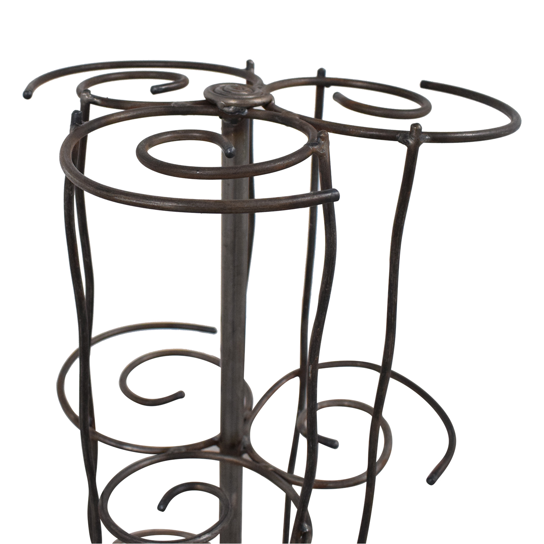 Restoration Hardware Swirl Candle Rack / Decor