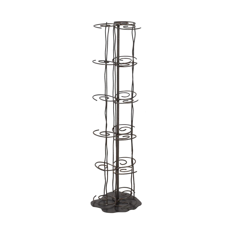 Restoration Hardware Swirl Candle Rack sale