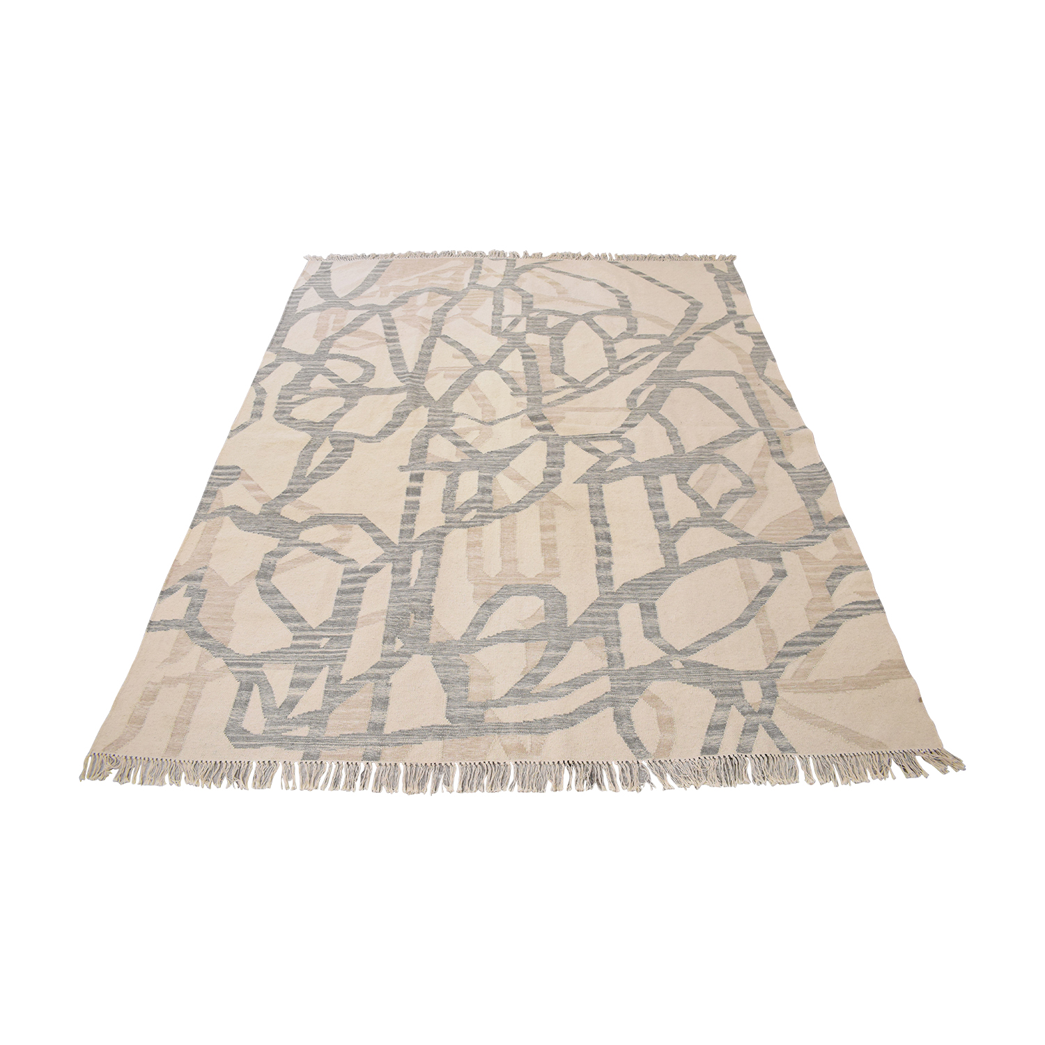 48 Off West Elm West Elm Hazy Lattice Rug Decor