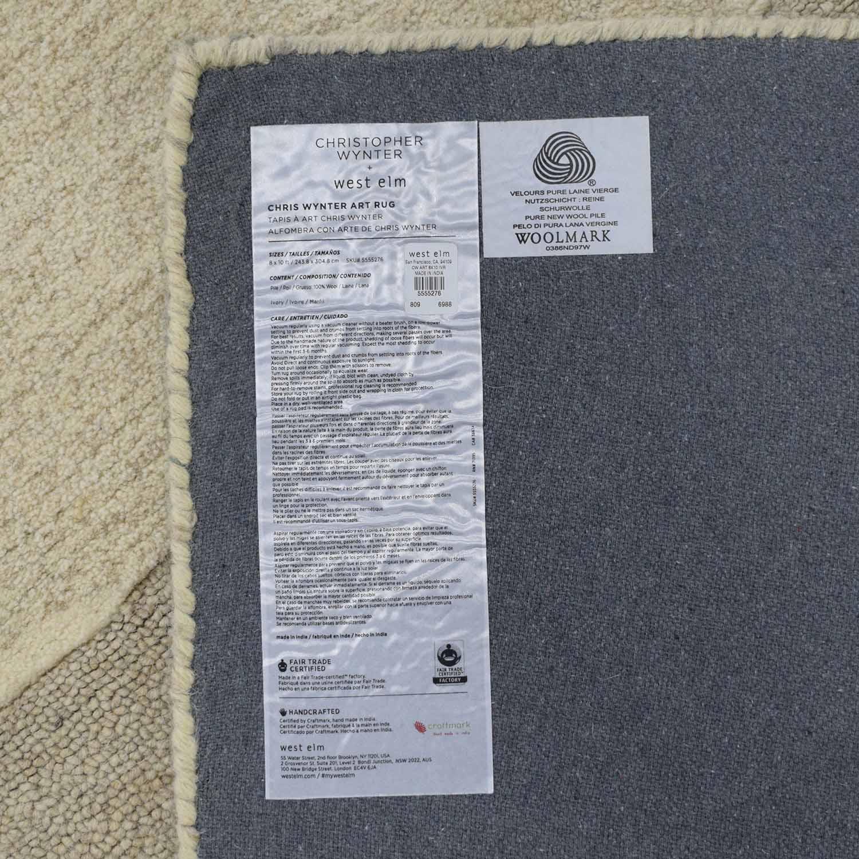 West Elm West Elm Chris Wynter Abstract Special Order Wool Rug price