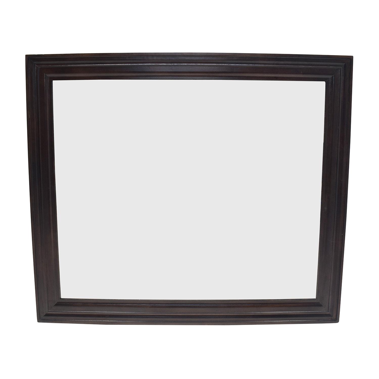 Oversized Wood Mirror / Decor
