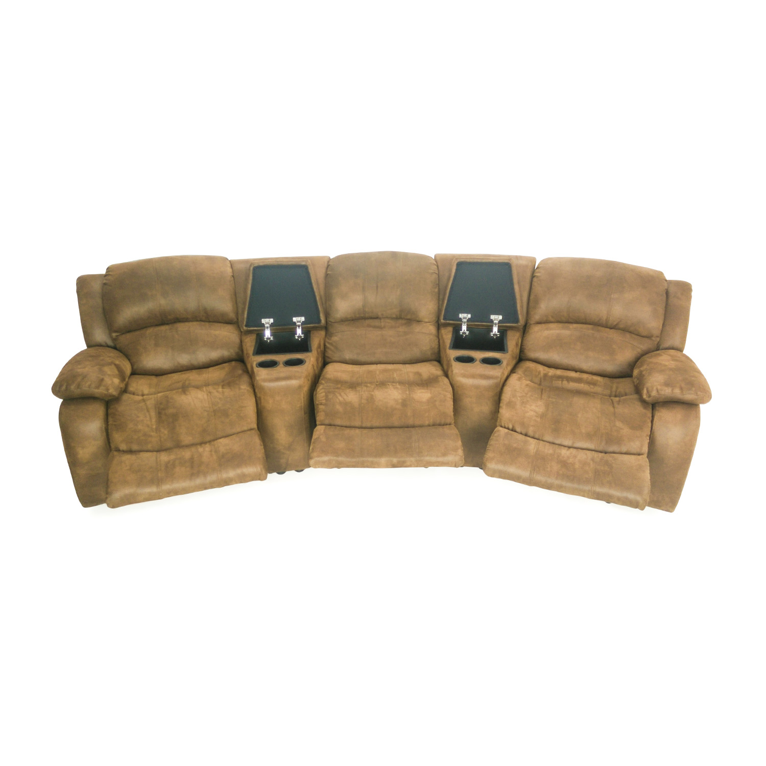 Raymour and Flanigan Theater Seating Couch Raymour and Flanigan