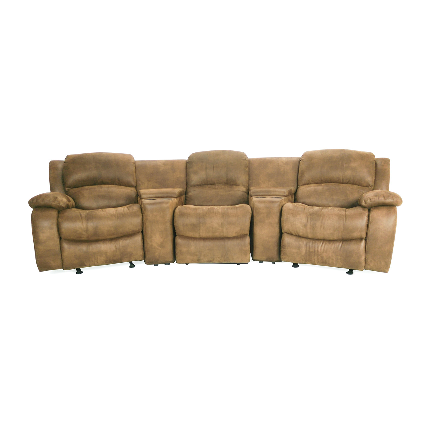 shop Raymour and Flanigan Theater Seating Couch Raymour and Flanigan Sofas