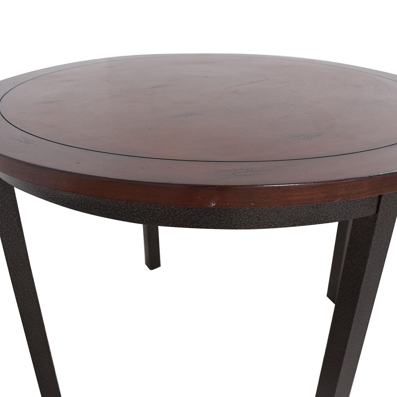 Carbon Loft Carbon Loft Evans Round Dining Table pa