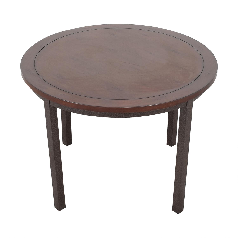 Carbon Loft Carbon Loft Evans Round Dining Table used