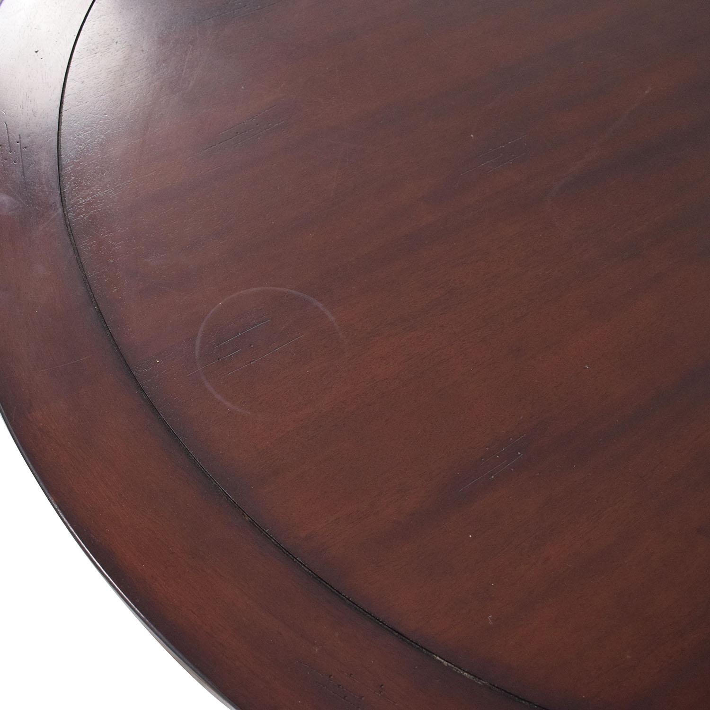 shop Carbon Loft Evans Round Dining Table Carbon Loft Tables