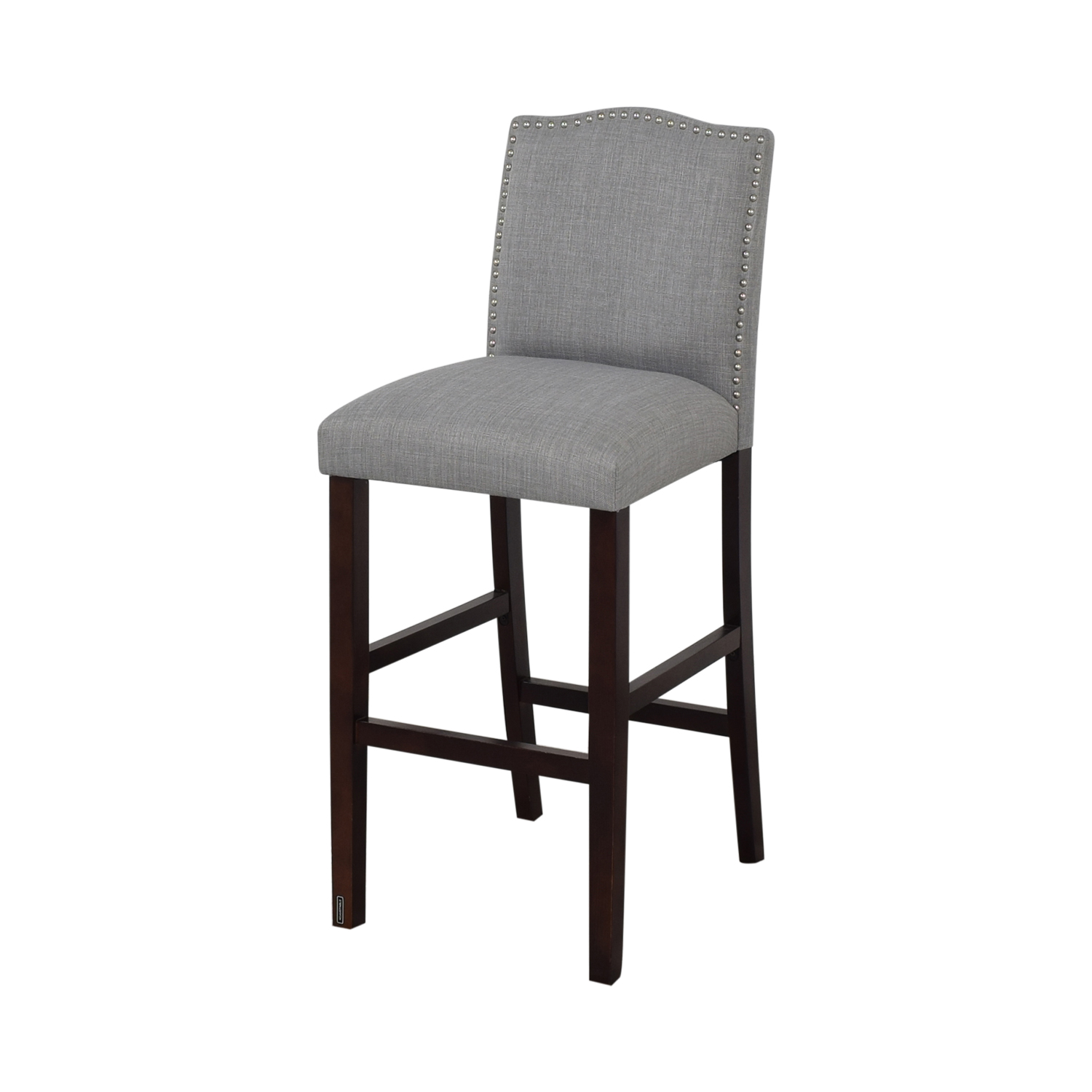 Skyline Furniture Nail Button Camel Back Bar Stools second hand