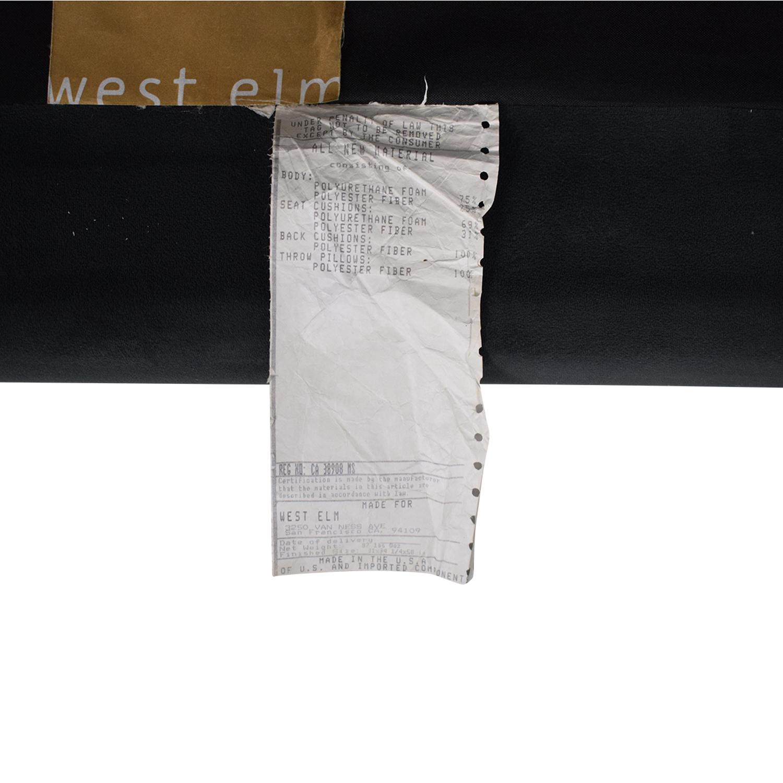 West Elm West Elm Monroe Mid-Century 2-Piece Chaise Sectional coupon