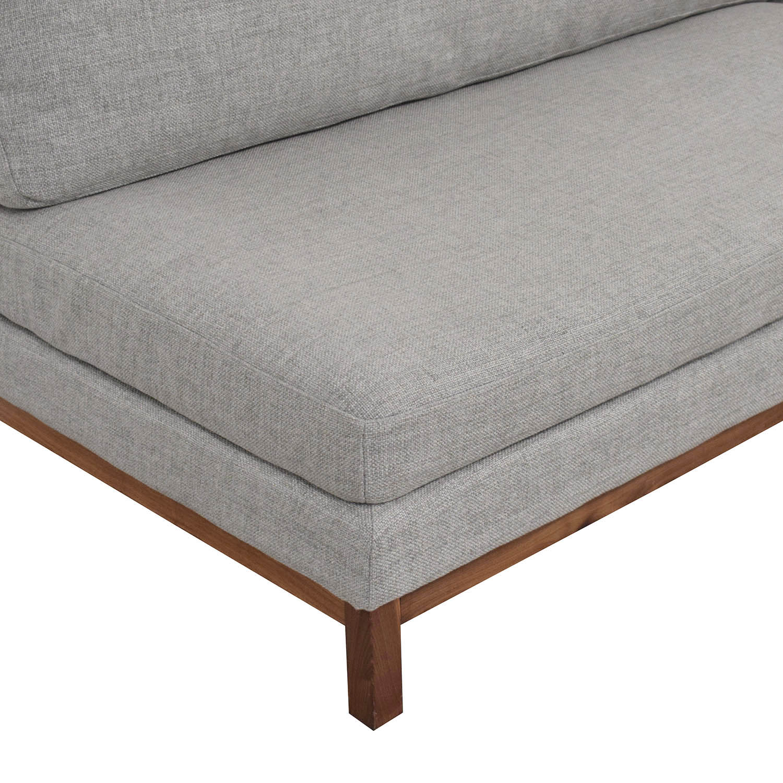 buy Interior Define Jasper Right Chaise Sectional Interior Define Sofas
