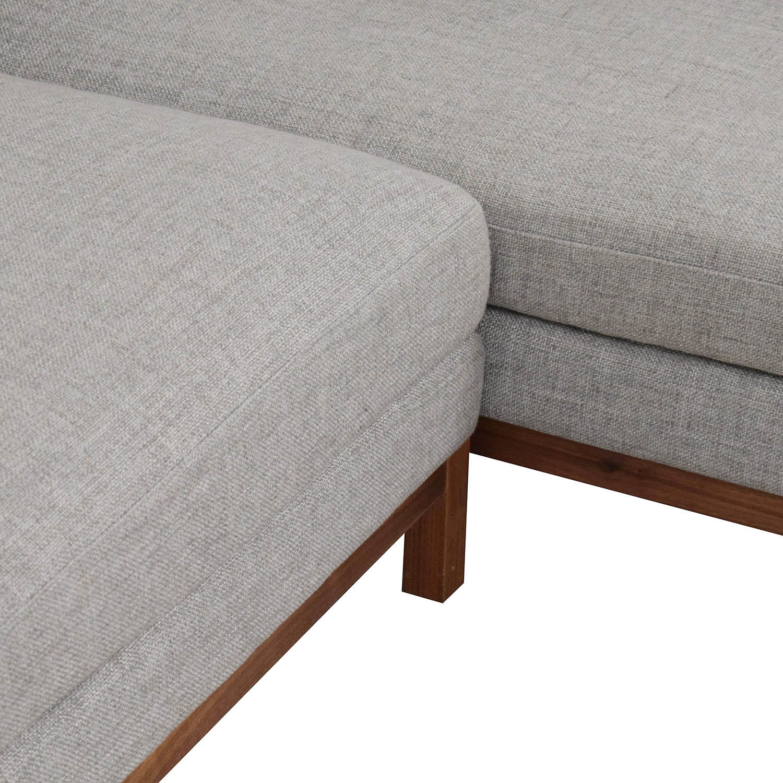 Interior Define Interior Define Jasper Right Chaise Sectional nyc