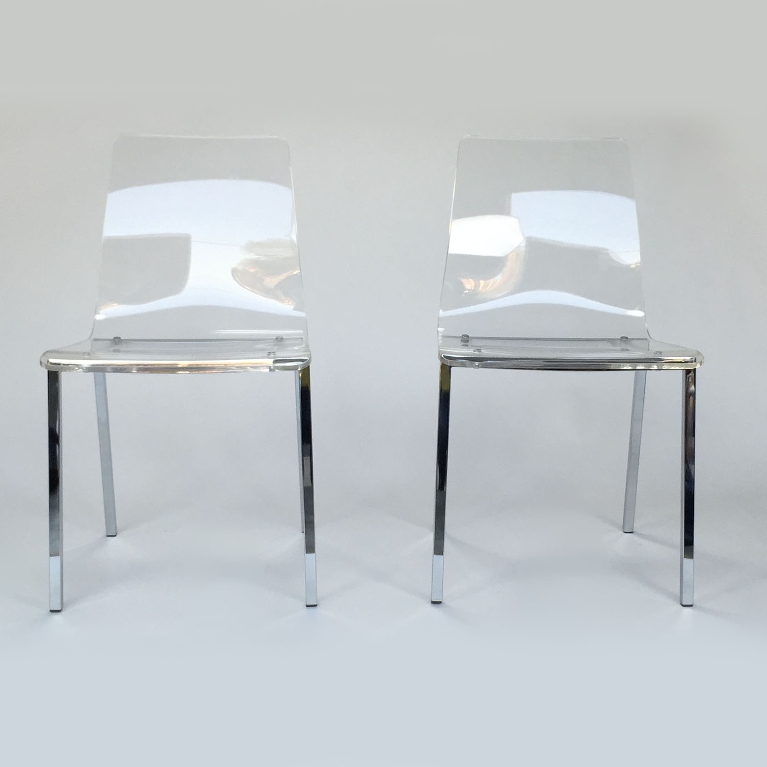 CB2 Vapor Chair Pair / Chairs