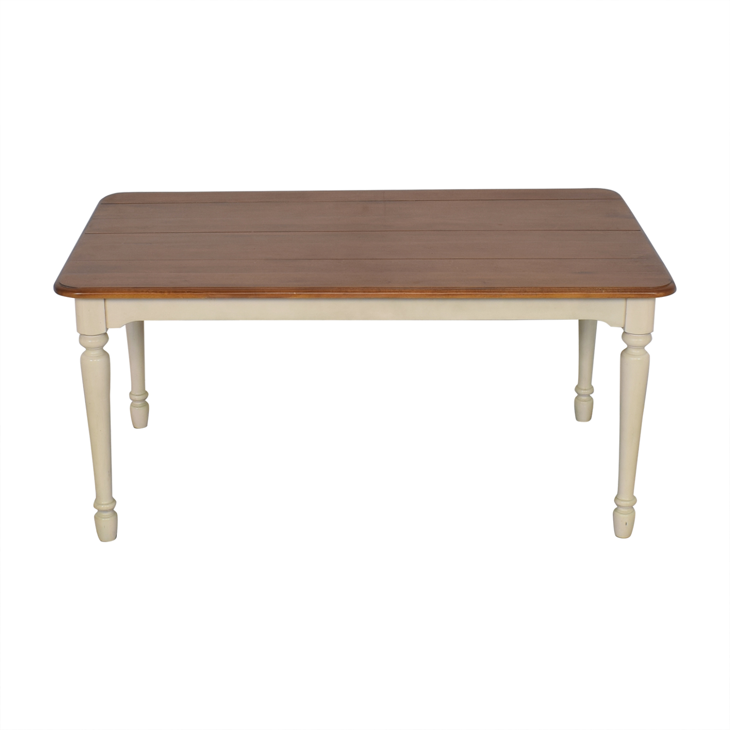 Cresent Furniture Cresent Fine Furniture Farmhouse Style Dining Table second hand