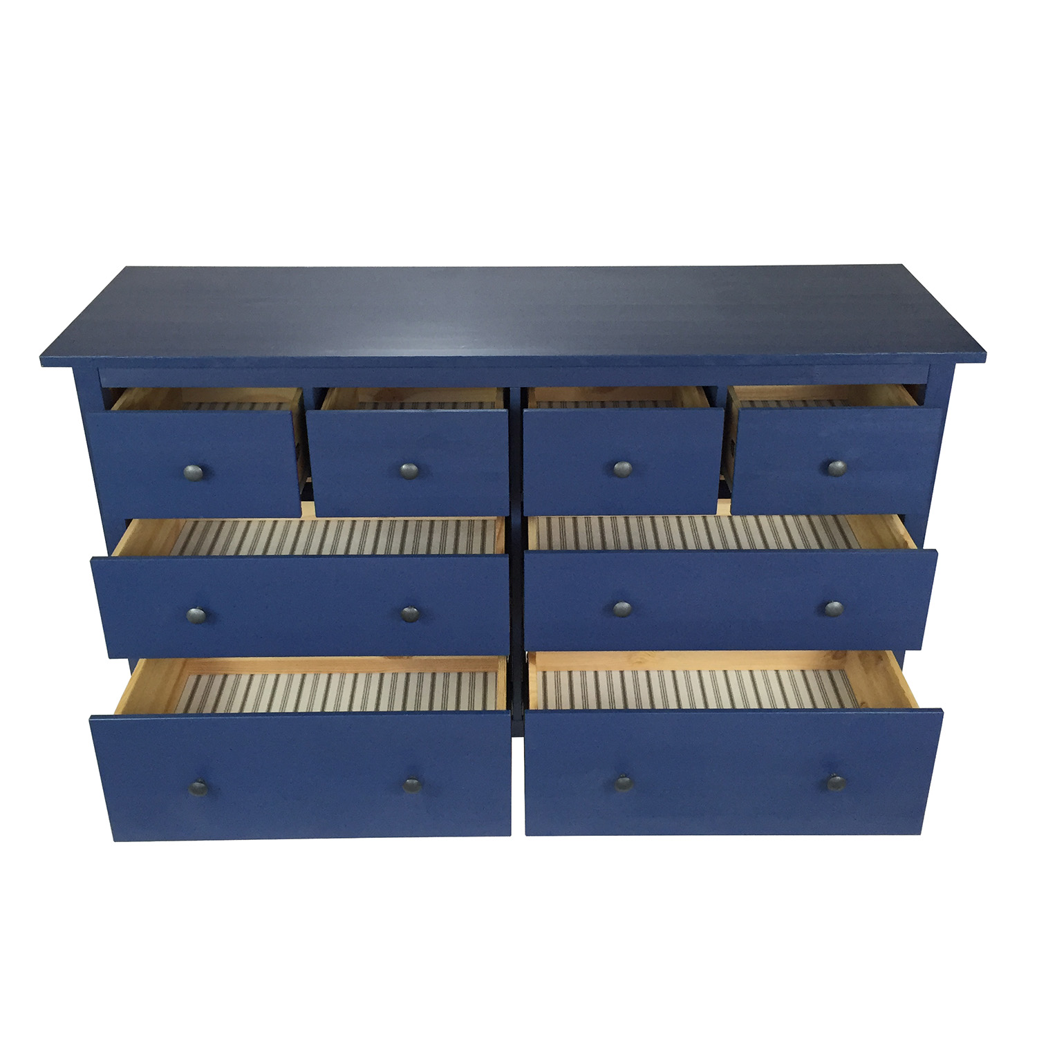 58 Off Ikea Blue Hemnes Dresser Storage