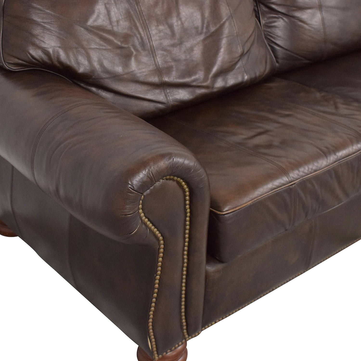 buy Thomasville Two Section Four Seat Sofa Thomasville