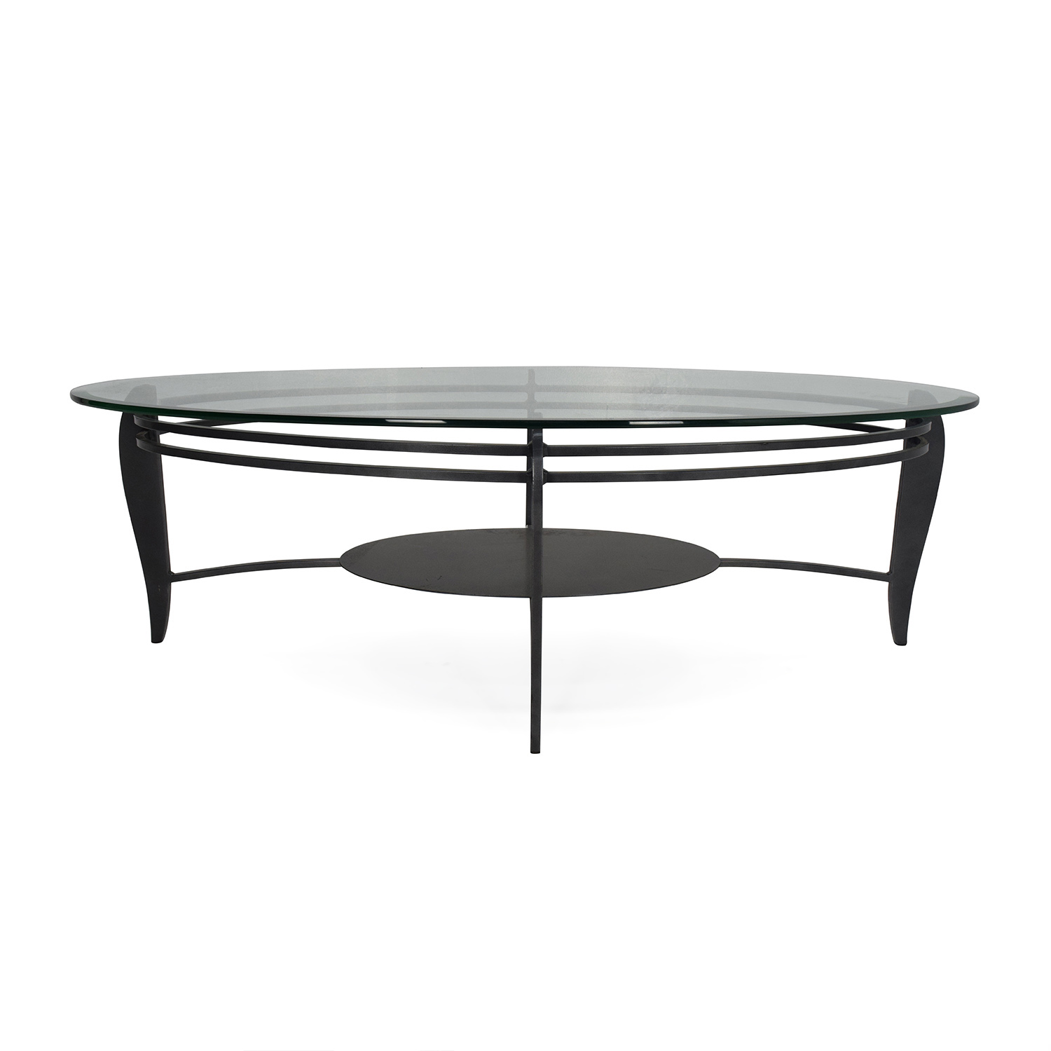 60% OFF West Elm West Elm Wood and Metal Coffee Table Tables