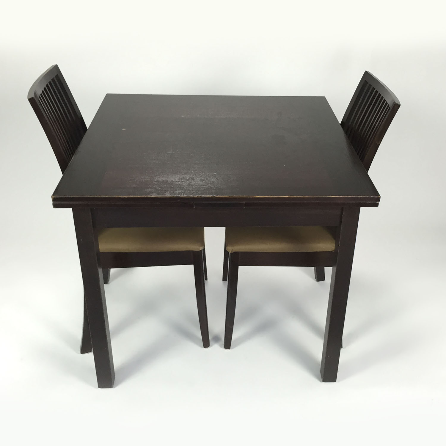 Door Store Extendable table with 2 chairs discount