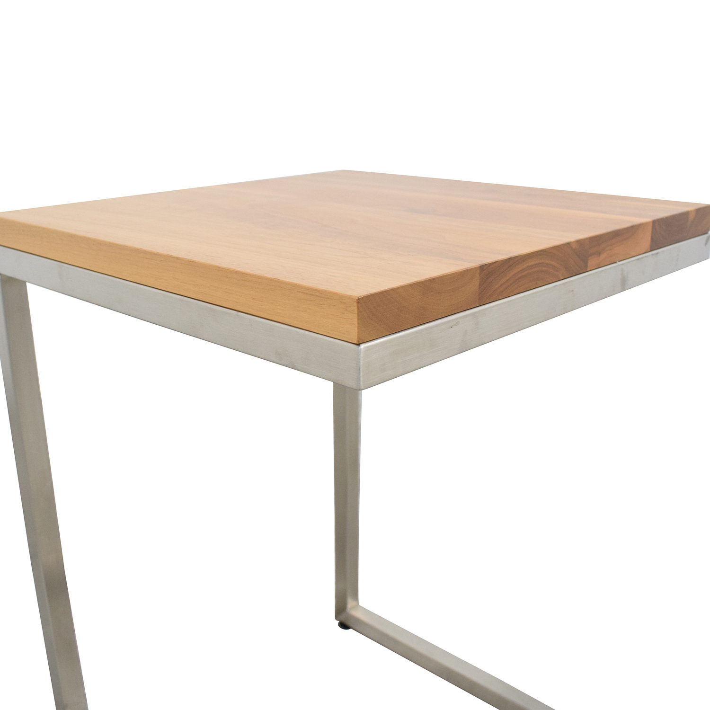 shop Room & Board Parsons C-Table Room & Board Tables