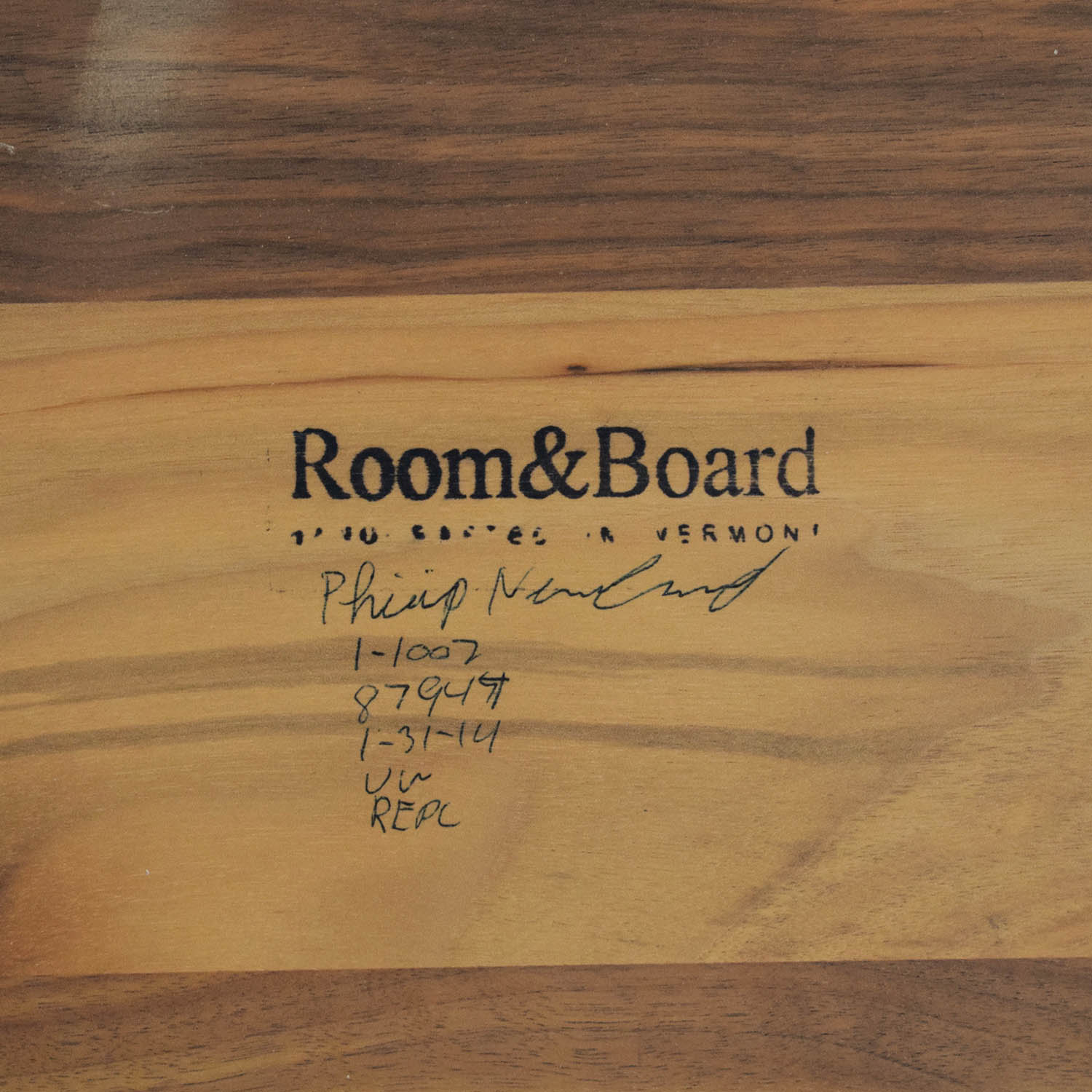 Room & Board Room & Board Parsons C-Table on sale