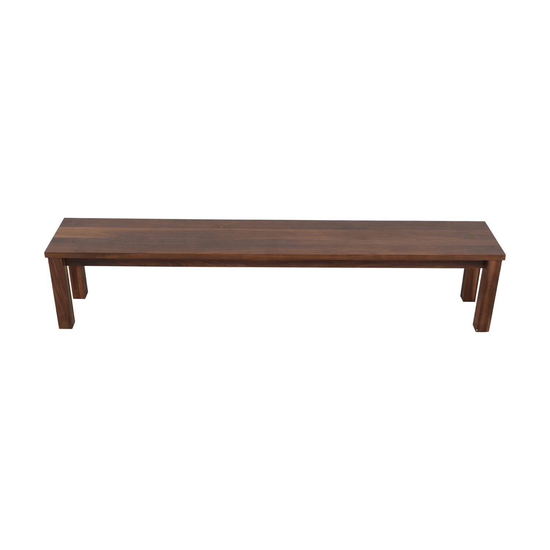 Room & Board Long Narrow Bench sale