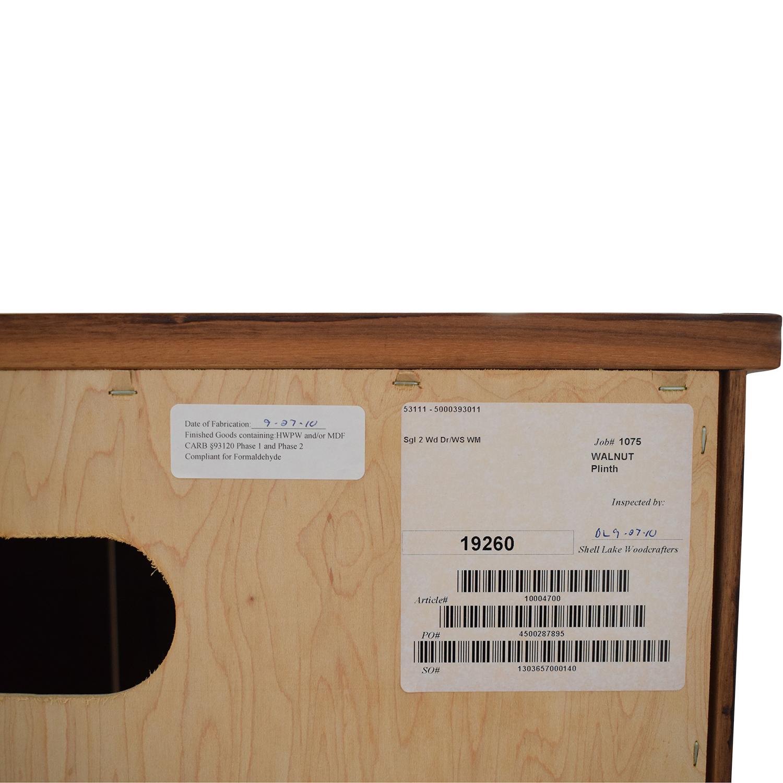buy Room & Board Room & Board Two Door Media Cabinet online