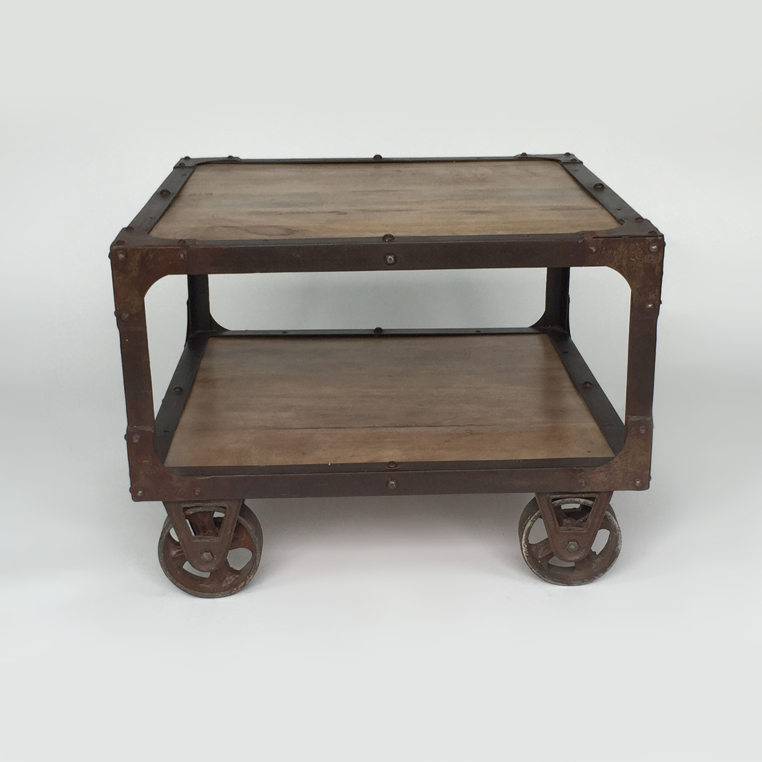 shop Rustic End Table Unknown Brand