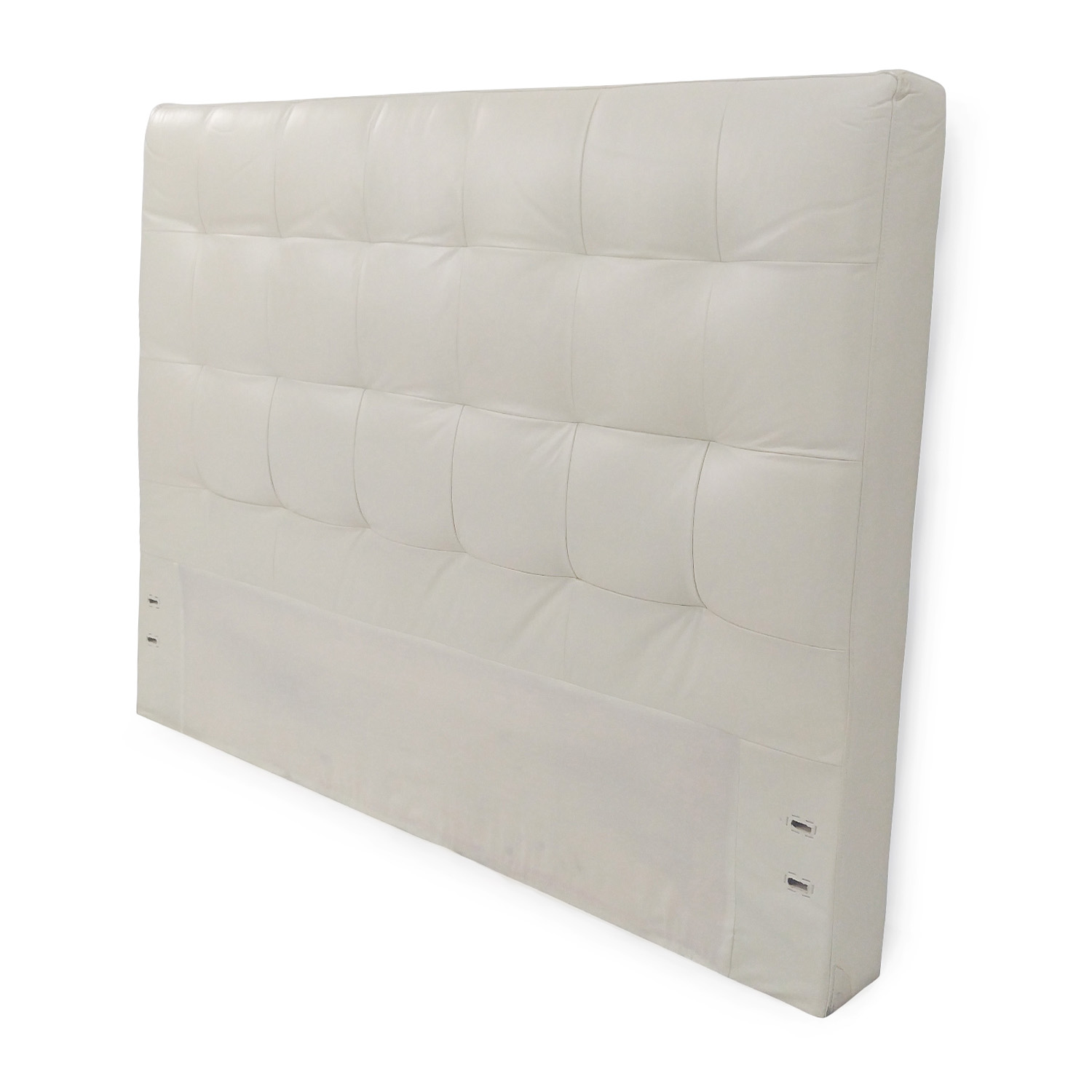West Elm West Elm Tufted Leather Headboard