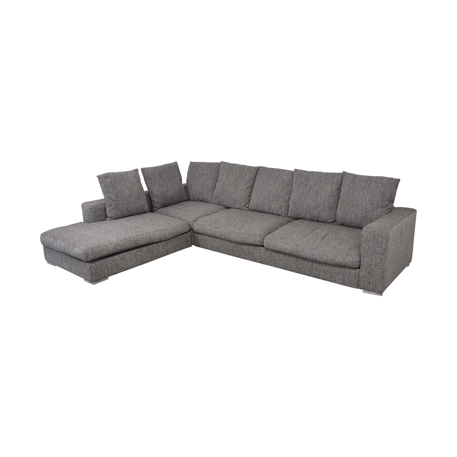 BoConcept BoConcept L-Shaped Modular Sofa with Ottoman nj