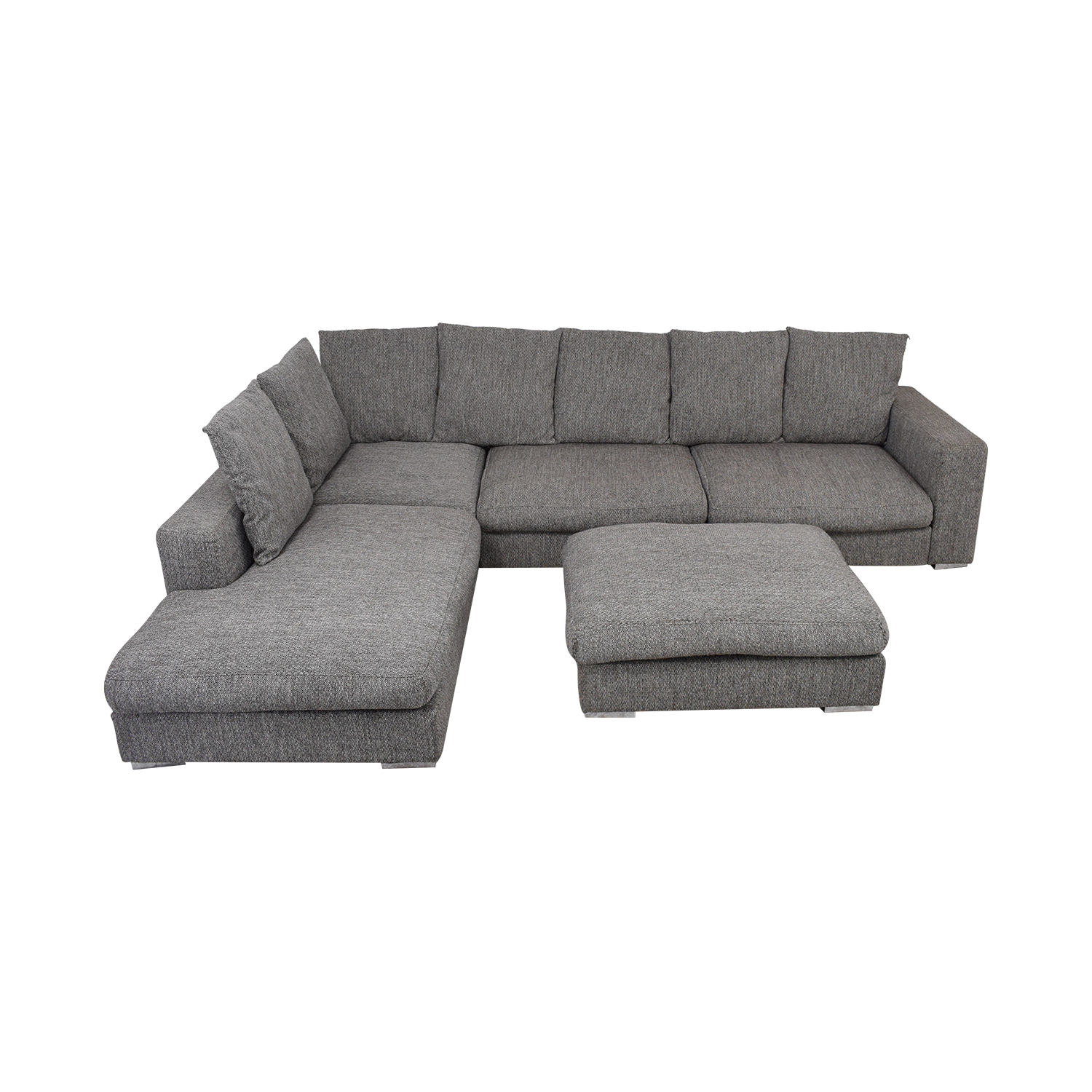 BoConcept L-Shaped Modular Sofa with Ottoman / Sofas