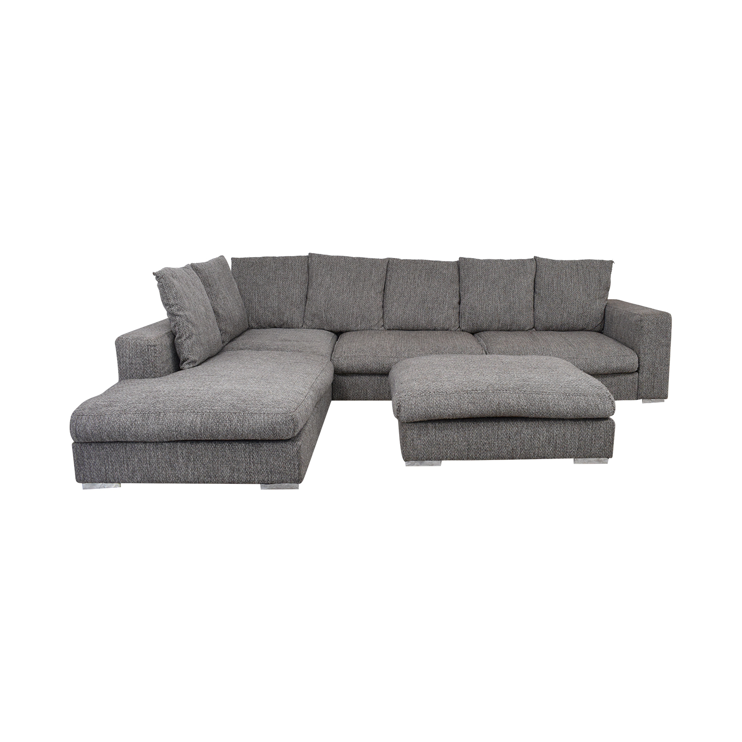 BoConcept BoConcept L-Shaped Modular Sofa with Ottoman ma