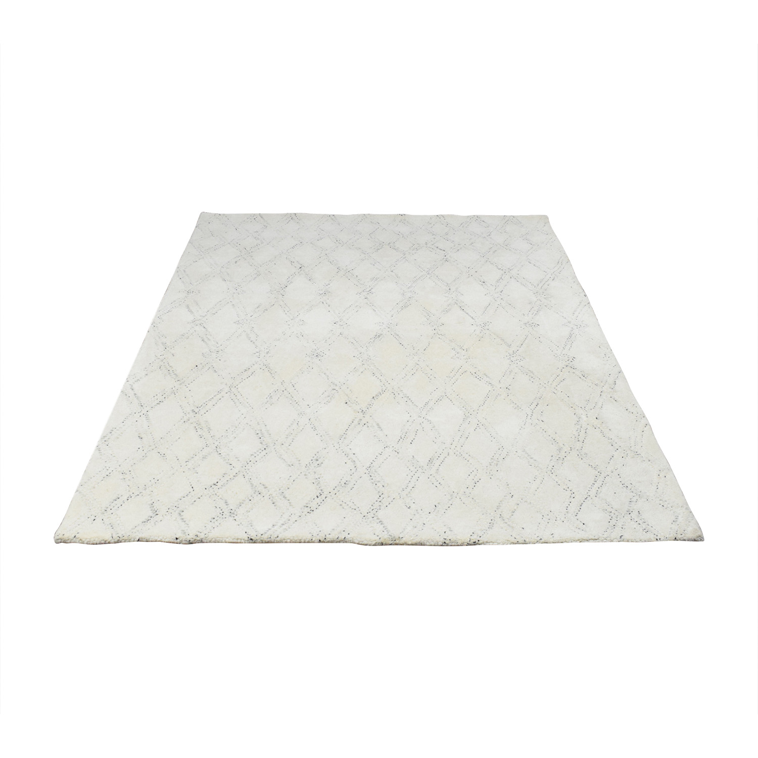 West Elm Hazy Lattice Rug / Rugs