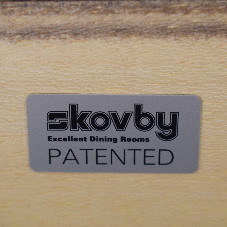 Skovby Skovby #24 Expandable Dining Table nyc