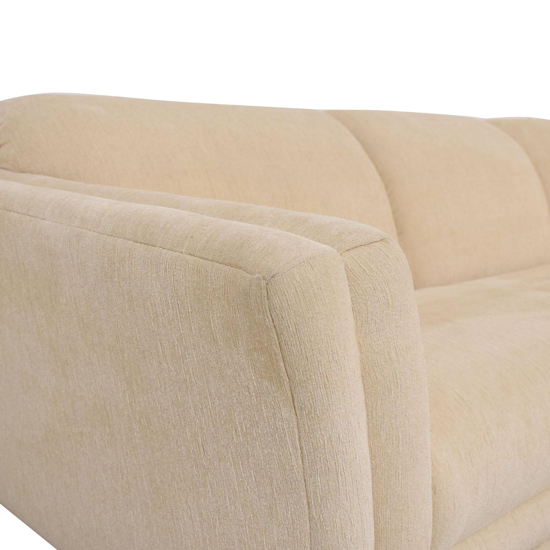 shop Huffman Koos Curved Sectional Sofa Huffman Koos