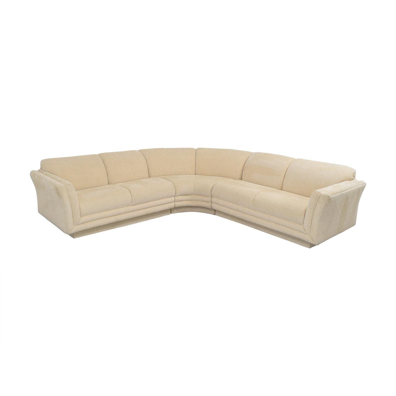 Huffman Koos Huffman Koos Curved Sectional Sofa ma
