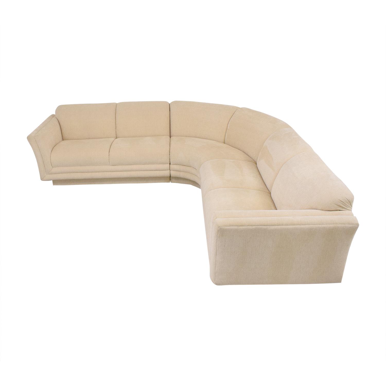Huffman Koos Huffman Koos Curved Sectional Sofa nj