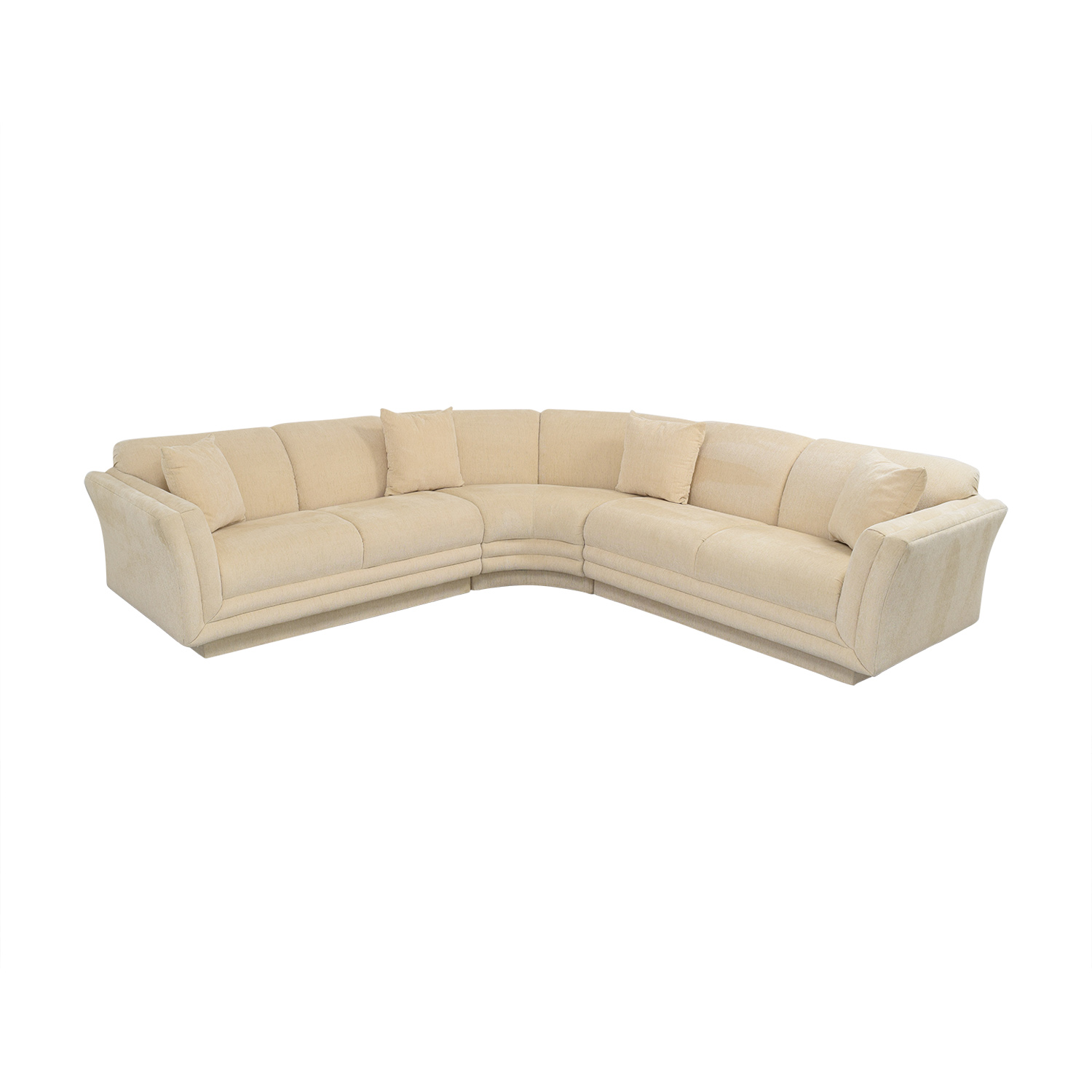 Huffman Koos Curved Sectional Sofa / Sectionals