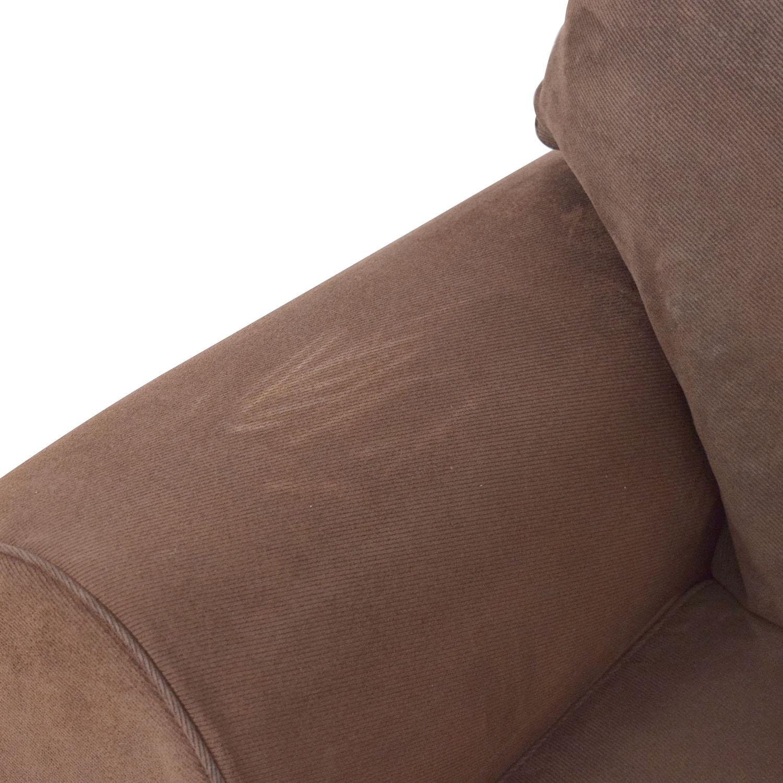 Classic Round Arm Two Cushion Sofa Classic Sofas