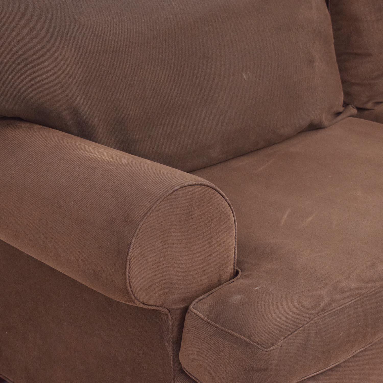 buy Classic Round Arm Two Cushion Sofa  Sofas