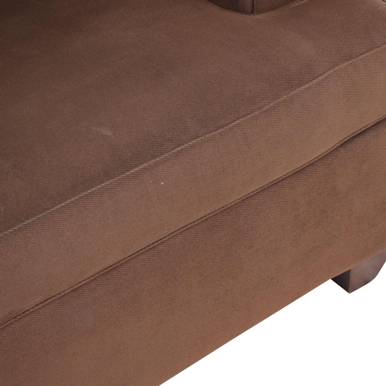 Classic Round Arm Two Cushion Sofa / Classic Sofas