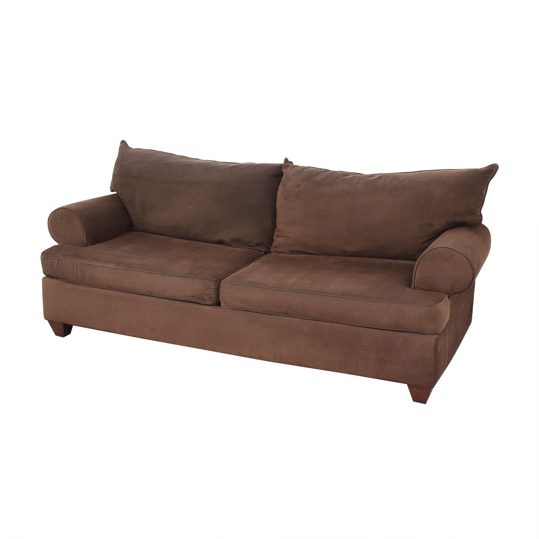 buy Classic Round Arm Two Cushion Sofa  Classic Sofas