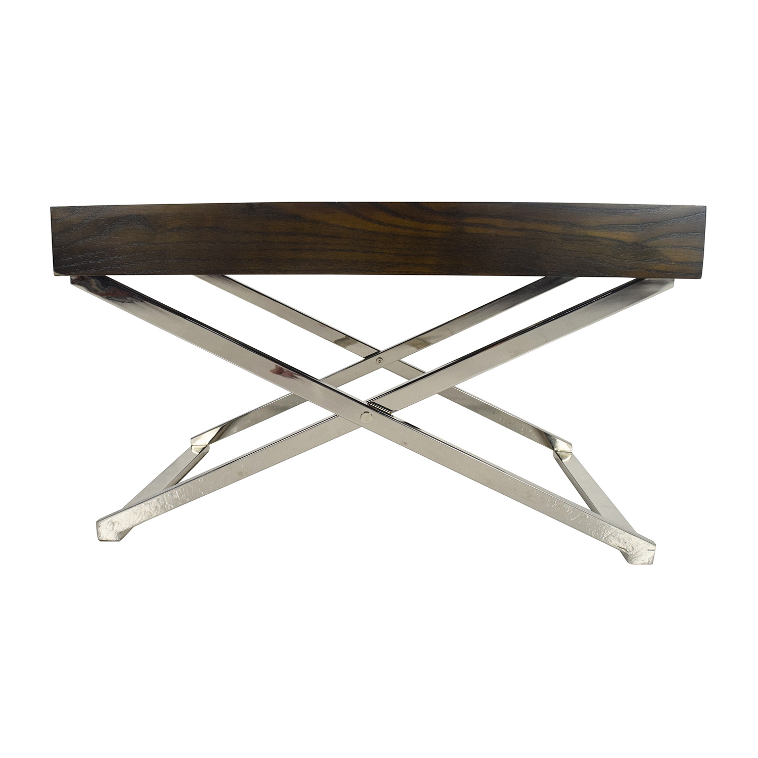 61% OFF West Elm West Elm Coffee Table and Tray Tables