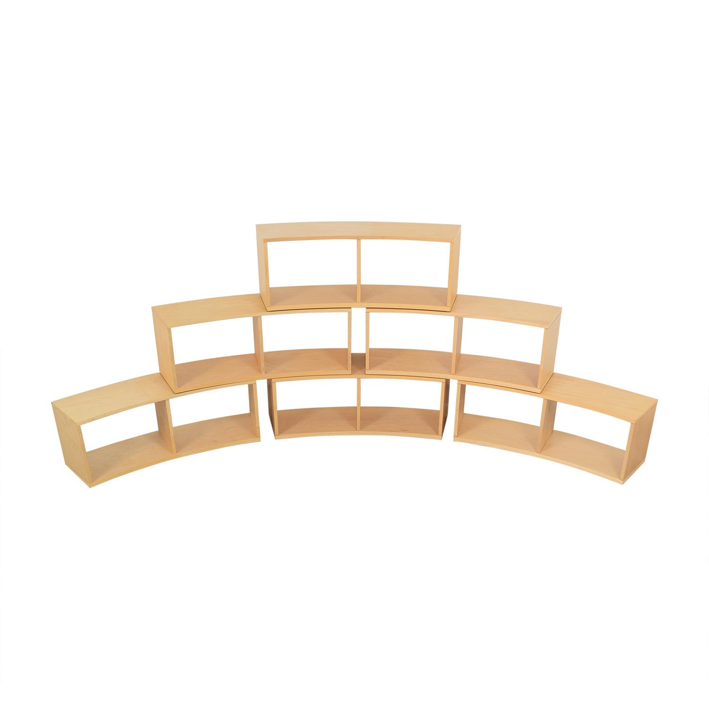 Jensen-Lewis Jensen- Lewis Curved Modular Bookcase ct