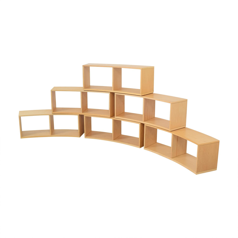buy Jensen-Lewis Jensen- Lewis Curved Modular Bookcase online