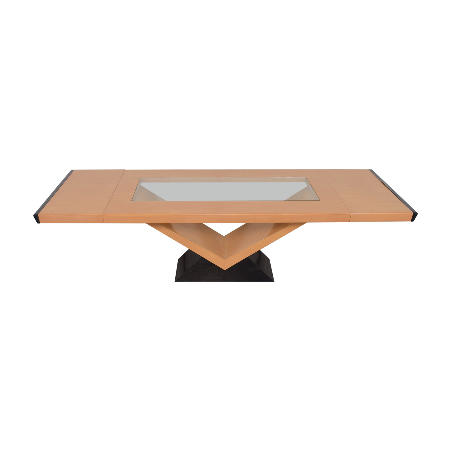 Contemporary Style Extendable Dining Table