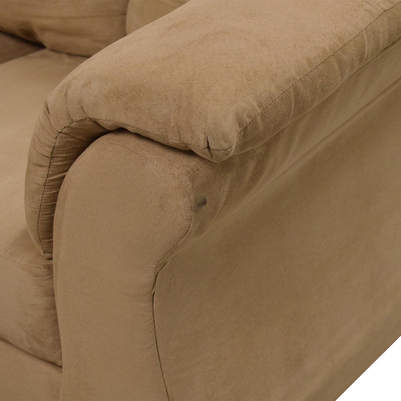 Washington Furniture Washington Furniture Five Cushion Sectional Sofa ct