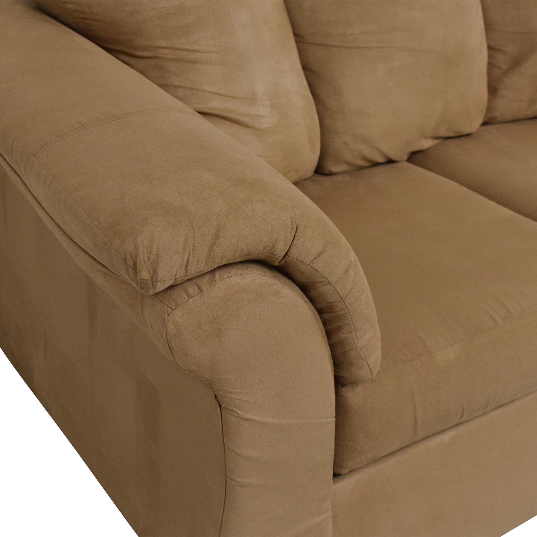 buy Washington Furniture Washington Furniture Five Cushion Sectional Sofa online
