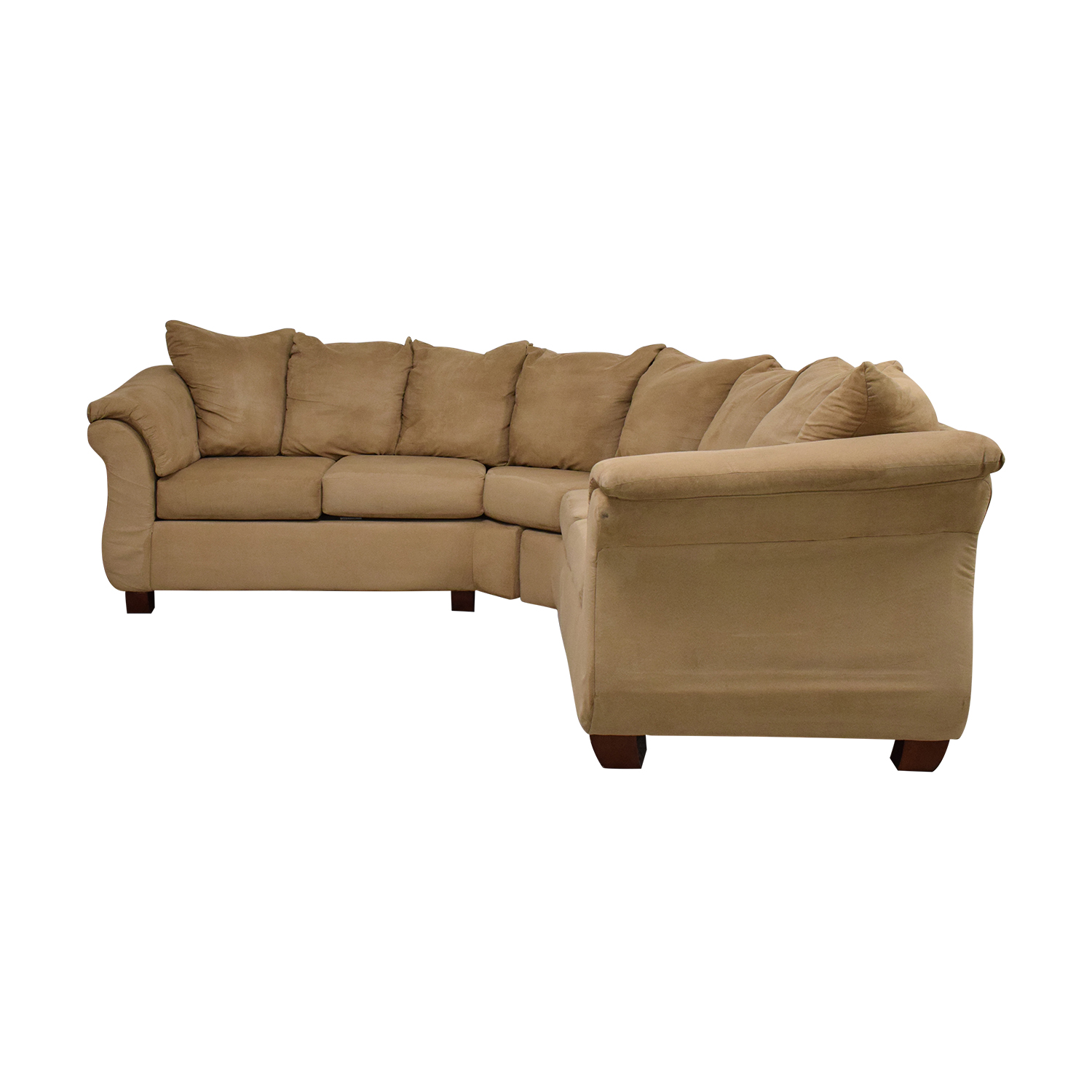 Washington Furniture Washington Furniture Five Cushion Sectional Sofa ma